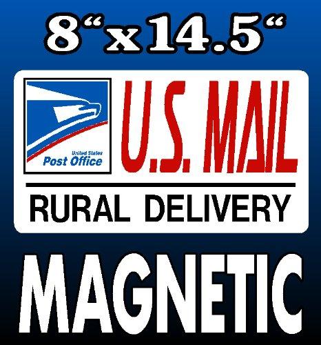 U.S. Mail Delivery Magnetic Sign Rural Carrier Magnet USPS 8