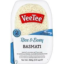 Veetee Dine In Rice - Microwavable Basmati Rice - 9.9 oz - Pack of 6