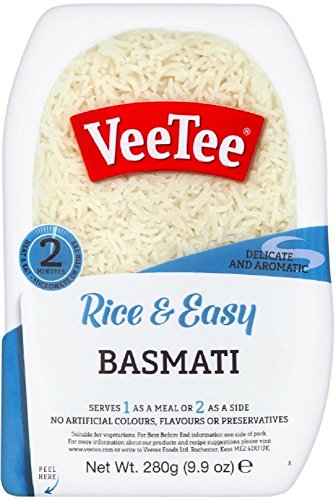 Veetee Dine In Rice - Microwavable Basmati Rice - 9.9 oz - Pack of 6 (Best Brand Of Brown Rice In India)