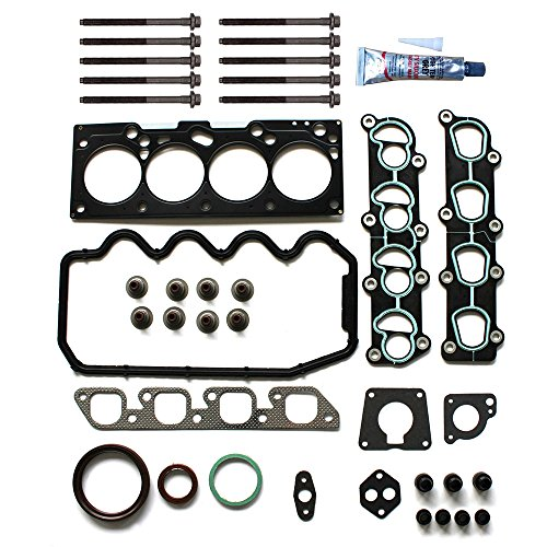Mercury Tracer Ford (ECCPP Head Gasket Set Bolts for 1997-1999 1998 1999 2000 Ford Escort Mercury Tracer 2.0L SOHC VIN P l4)