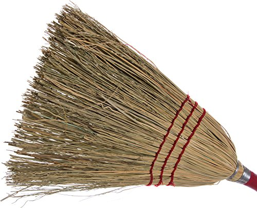 Carlisle 368200 Flo-Pac Lobby Corn Brooms, Set of 12 (40-Inch, Corn Blend) by Carlisle (Image #1)