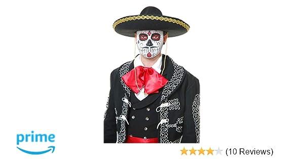 Amazon.com: Charades Unisex-Adults Mariachi Sombrero, Black ...