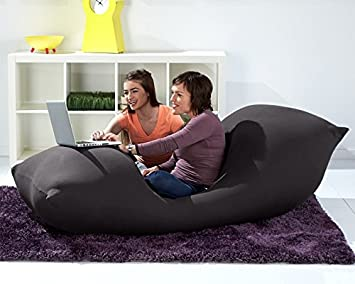 Excellent Buy Yogibo Max Giant Bean Bag 6 Feet Dark Gray Online At Alphanode Cool Chair Designs And Ideas Alphanodeonline