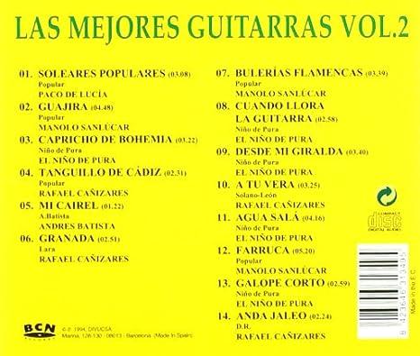 Las Mejores Guitarras: Various Artists: Amazon.es: Música