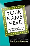 Your Name Here, Susan Merson, 1932993037