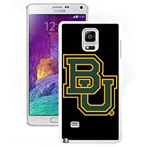 Hot Sale Samsung Galaxy Note 4 Cover Case Big 12 Conference Big12 Football Baylor Bears 3 Protective Cell Phone Hardshell Cover Case For Samsung Galaxy Note 4 N910A N910T N910P N910V N910R4 White Unique And Durable Designed Phone Case