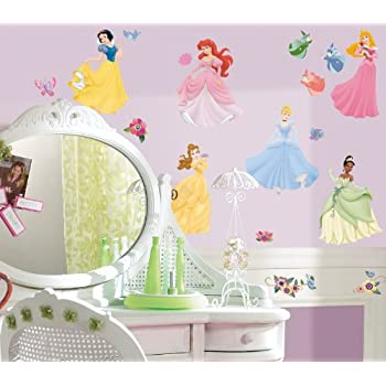 Charmant Disney Princess Peel U0026 Stick Wall Decal