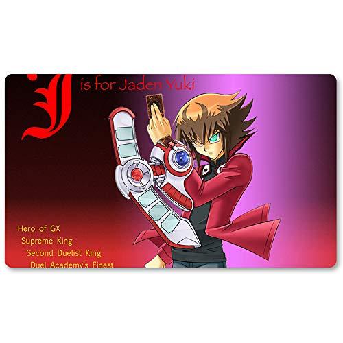 - Jis for Jaden - Board Game Yugioh Playmat Games Table Mat Size 60X35 cm Mousepad MTG Play Mat for Yu-Gi-Oh! Pokemon Magic The Gathering
