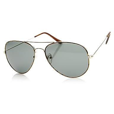 Culte rétro AVIATOR lunettes de soleil hommes femmes baiser®-TOP GUN vintage unisexe - NOIR / noir 2ZdF20IS
