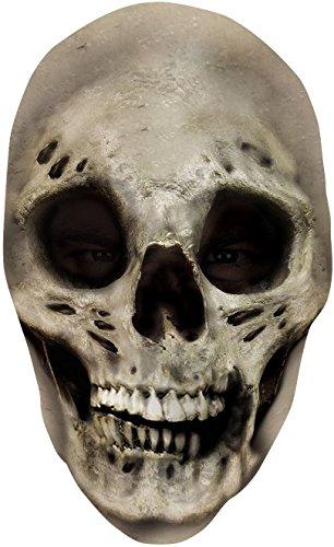 [Skull Nylon Full Mask Costume Mask] (Halloween Skeleton Mask)