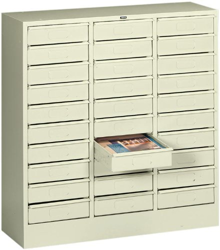 30 Drawer Letter Size Organizer by Tennsco ()