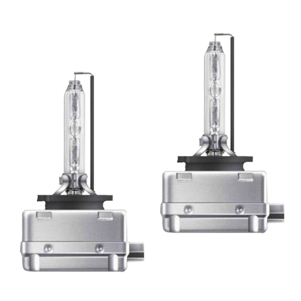 Lumenon HID Xenon Conversion Headlight Replacement Bulbs 1 pair (D1 D1S D1R D1C, 5000k Pure White)