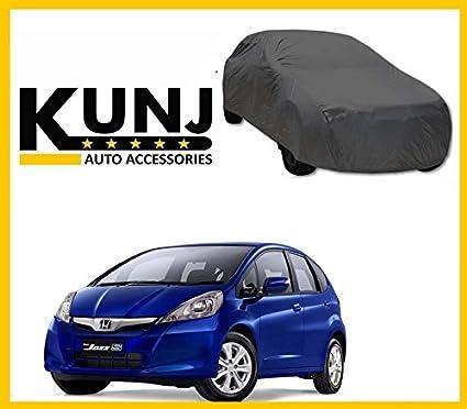 Kunj Autotech Premium Quality Car Body Cover For Honda Jazz Grey