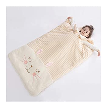 Saco de dormir Xiuyun bebés Otoño e Invierno niños Anti-Patada niños Grandes (Color : A, Tamaño : 80 * 120cm): Amazon.es: Hogar
