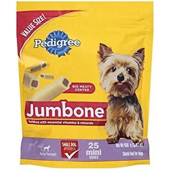 Amazon.com : Pedigree Jumbone Real Beef Flavor Mini Dog