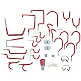 Stalwart 75-8030R Hang it Yourself Home Organization, 30-Piece