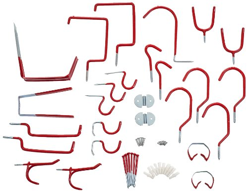 (Stalwart 75-8030R Hang it Yourself Home Organization, 30-Piece)