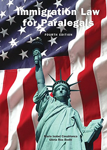 Immigration Law For Paralegals W/Cd