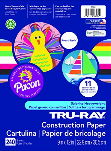 Pacon Tru-Ray Construction Paper