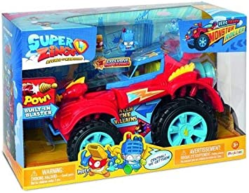 Oferta amazon: SuperZings - PlaySet Héroe Truck (PSZSP112IN20) con Vehículo y 2 Figuras Especiales