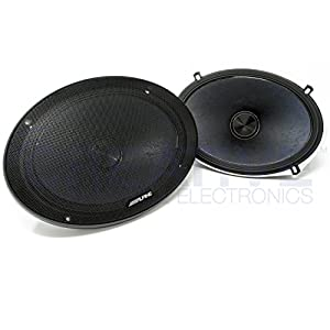 Alpine X-Series 6x9 Inch 360 Watt Component Car Audio Speaker System | X-S69C