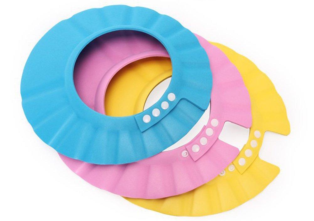 Adjustable Baby Kids Children Shampoo Bathing Shower Cap Hat Wash Hair Shield xl