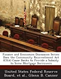 Finance and Economics Discussion Series, Glenn B. Canner, 1288715803