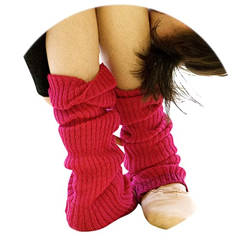 KD dance New York Trending Knee High Leg Warmers 5 Pack, ...