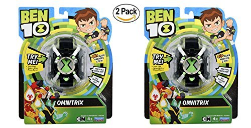 Set of 2 Ben 10 Basic Omnitrix Role Play Watch ()