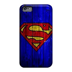 Bumper Hard Phone Case For Apple Iphone 6s Plus With Support Your Personal Customized Stylish Superman Image Luoxunmobile333