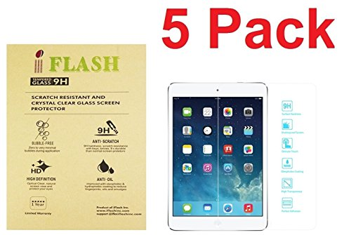 Tempered Glass Screen Protector for Apple iPad Mini 1/2/3 (Clear) - 6