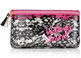 Victoria's Secret Makeup Bag Cosmetic Bag Lace Medium Train Case