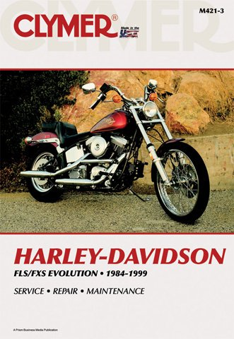 Clymer Repair Manual for Harley FX/FL/FLSTN Softail 84-99