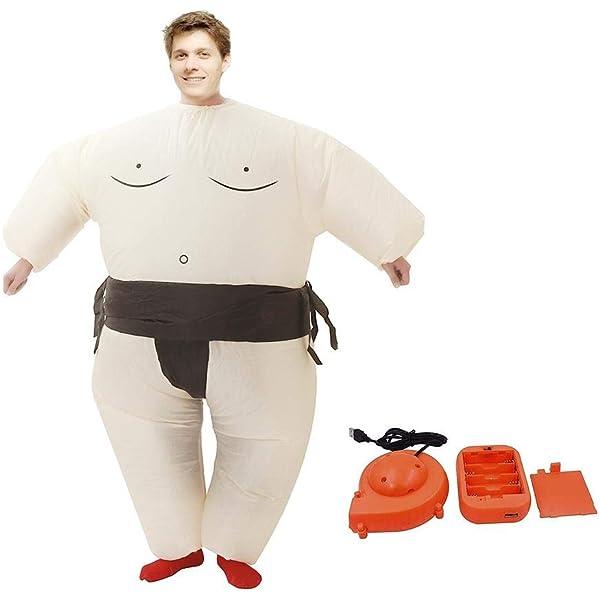 Disfraz de luchador de sumo inflable Disfraz de Halloween para ...