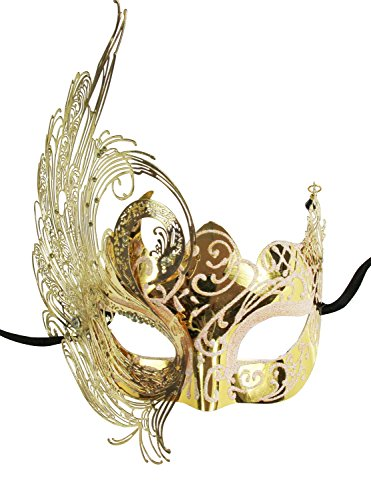 KAYSO INC Madame Belle Exquisite Venetian Masquerade Mask -