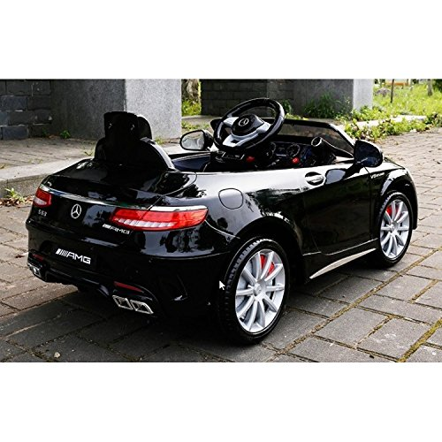 Best Ride On Cars Bentley Ra 12v: Ultimate Licensed 12v Mercedes S63 Battery Operated Ride