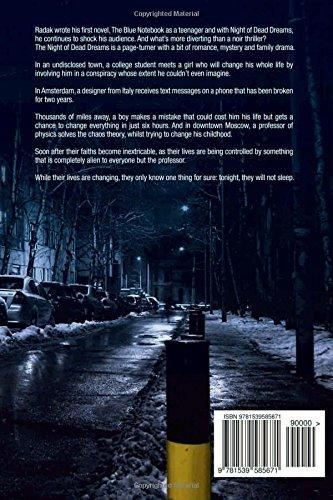 Night of Dead Dreams: Vladislav Radak: 9781539585671: Amazon