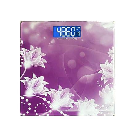 AA-SS Básculas de pesaje Inteligentes Básculas de baño Digitales con Pantalla LED Grande,