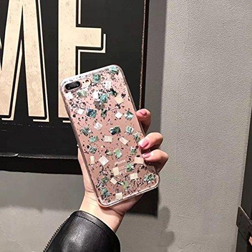 Wkae Profusion Silberfolie Transparente Schutzhülle für iPhone 7 Plus
