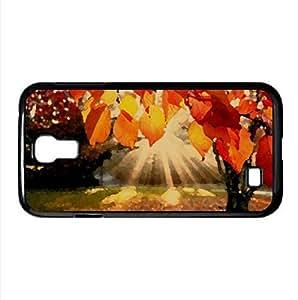 Autumn Landscape Watercolor style Cover Samsung Galaxy S4 I9500 Case (Autumn Watercolor style Cover Samsung Galaxy S4 I9500 Case)