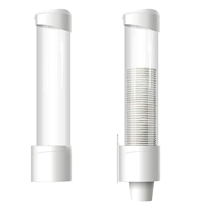 Surface Mount Cup Dispenser/Water Cup Dispenser - White