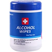 75% Alcohol Wet Wipes Disinfection 60 Pumping Canned Sterilization Alcohol Wipes Barrel Cleaning Wipes
