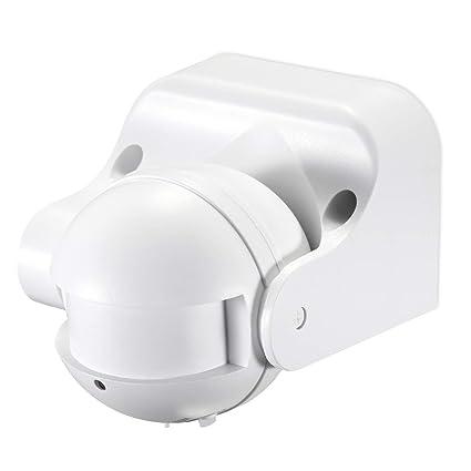 Volton - Sensor de Movimiento de Superficie de Pared, basculante, Funciona por tecnología de