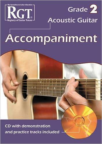 RGT ACOUSTIC GUITAR Grade 1 Accompaniment CD