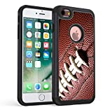iPhone 6S Case,iPhone 6 Case,Rossy Heavy Duty Hybrid TPU Plastic Dual Layer Armor Defender Protection Case Cover for Apple iPhone 6/6s 4.7 inch,Ball Sports Football