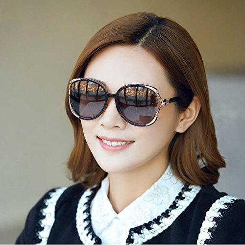 Cadre Classique Charnières de Lentilles PC Polarisé soleil Couleur de Marron Marron protection CJC lunettes Des ressort à UV400 wxqFXPX