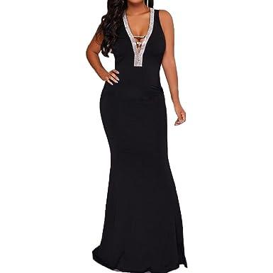Womens Long Black Wedding Plus Size Formal Dress Dresses At Amazon
