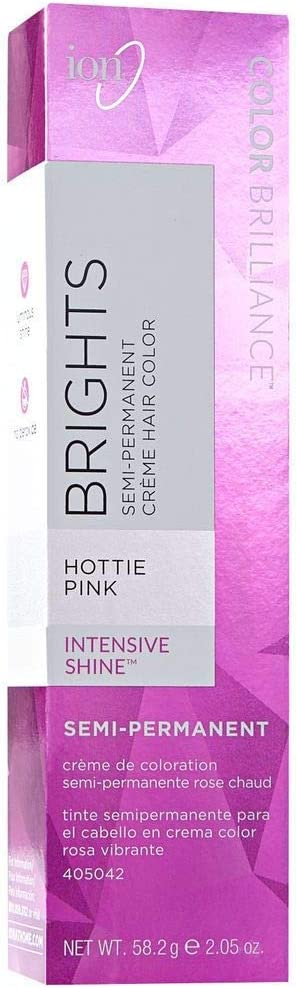 Ion Color Brilliance Semi Permanent Neon Brights Hair Color Hottie Pink by Ion