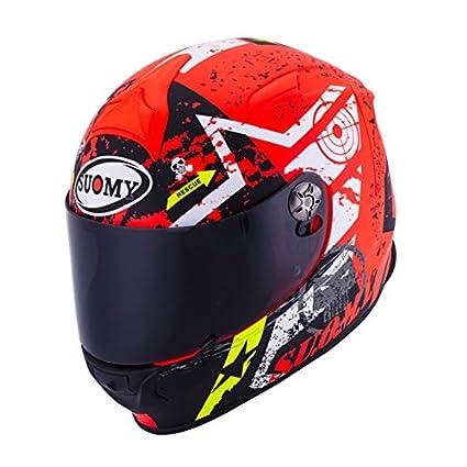 Suomy SR Sport Stars Orange Helmet size Large
