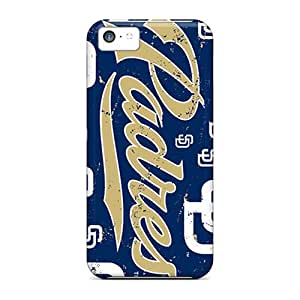 Scratch Resistant Hard Cell-phone Cases For Iphone 5c With Custom Nice San Diego Padres Skin JasonPelletier